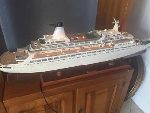 Carnival Cruse Ship Model