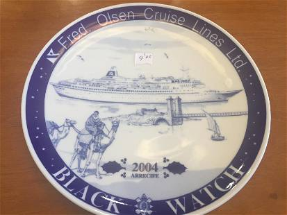 Fred Olson Plates