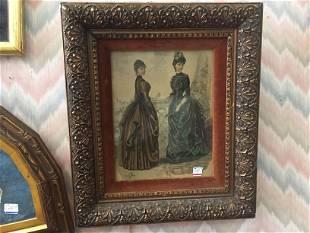 Vintage Print '2-Women'