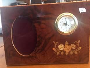 Italian Music Bx. Pic.Frame/clock