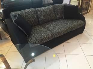 Black Sofa with