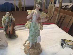 Bisque Style Figurine