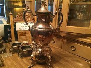 Eaton Silver Co. Coffee Urn