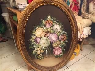 Oil/Canvas 'Floral'