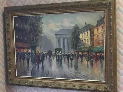 Canvas 'Paris' Perez