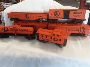 RARE LIONEL AUTHORIZED DEALER TRAIN SET