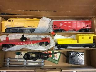 LIONEL LEHIGH VALLEY TRAIN SET You are bidding on a