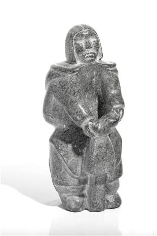 UNIDENTIFIED ARTIST, Inuit, Standing Woman with Kamik