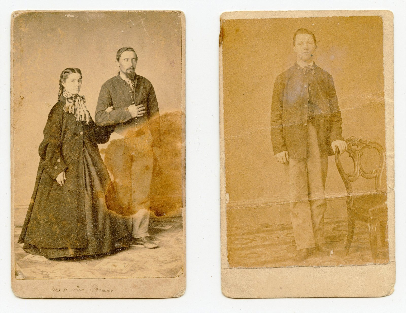 Civil War CDV Grouping- Pennsylvania Regiments