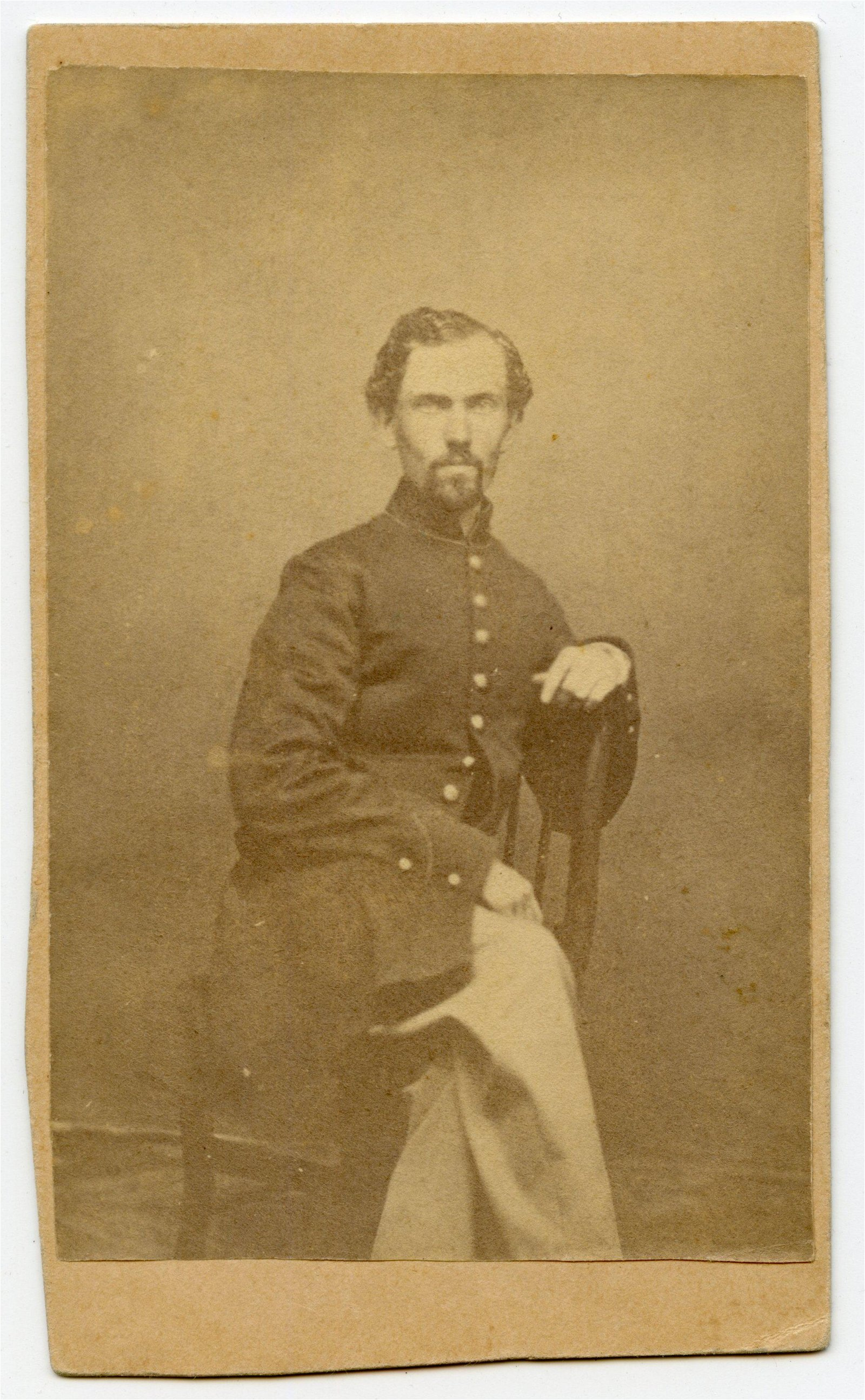 Civil War CDV- Possibly 16th Illinois Infantry