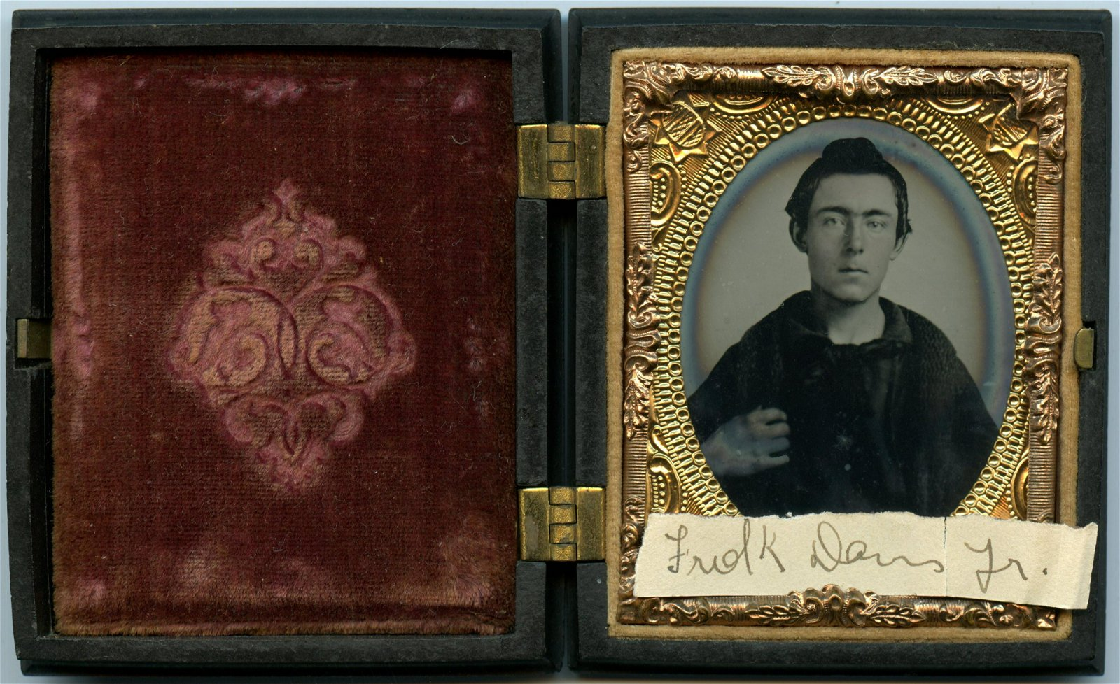 Civil War Ambrotype of Sailor- Killed in Action