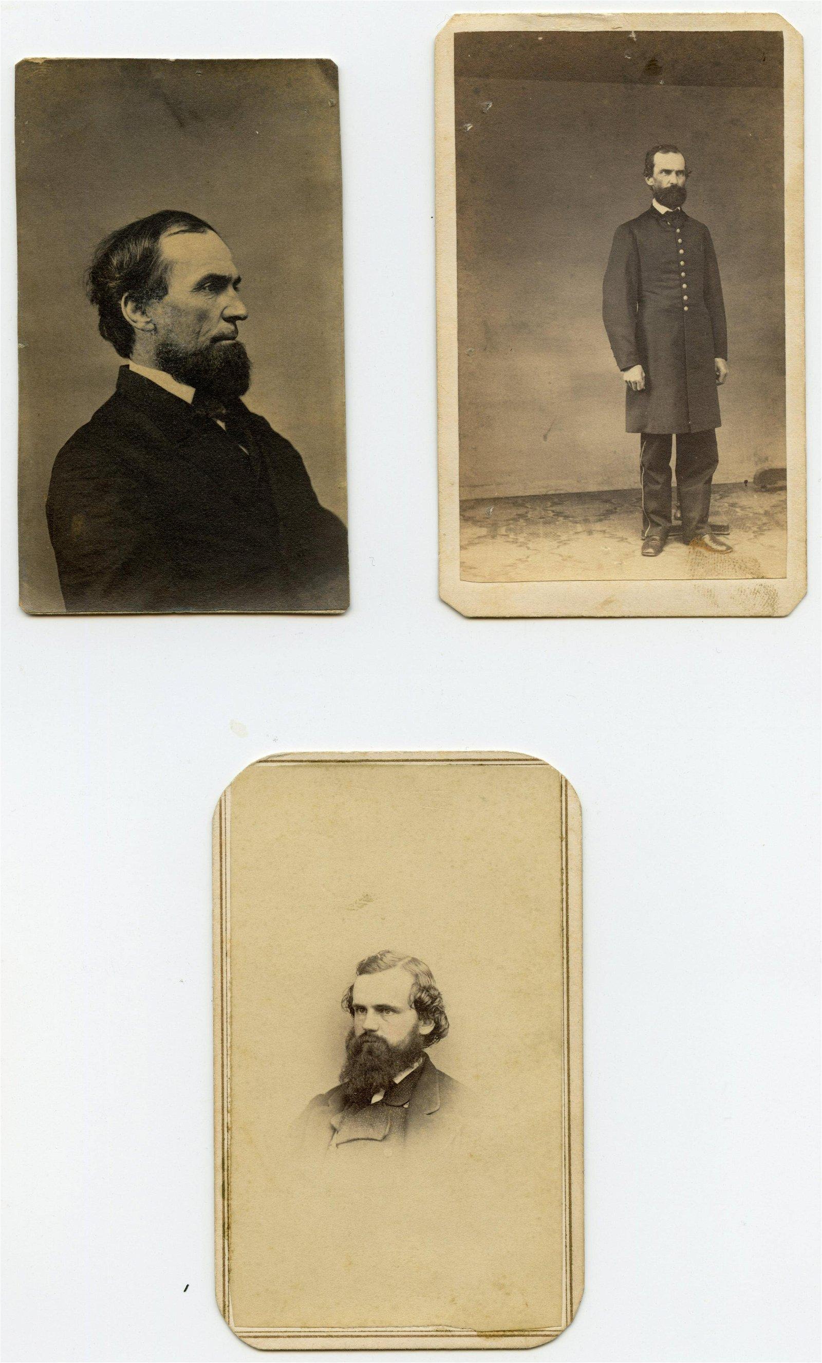 Civil War CDV Group- Prominent Naval Figures (PA)