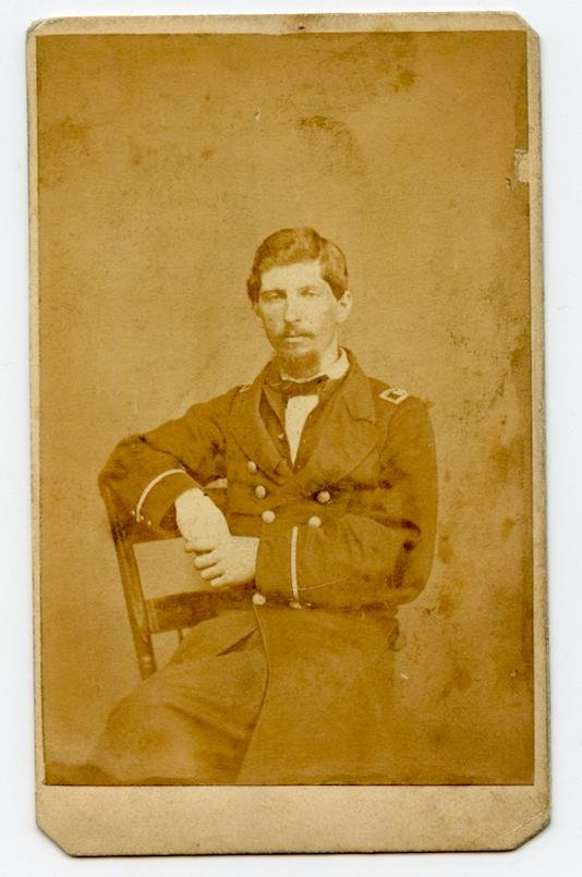 Civil War CDV of Naval Officer- Killed In Action
