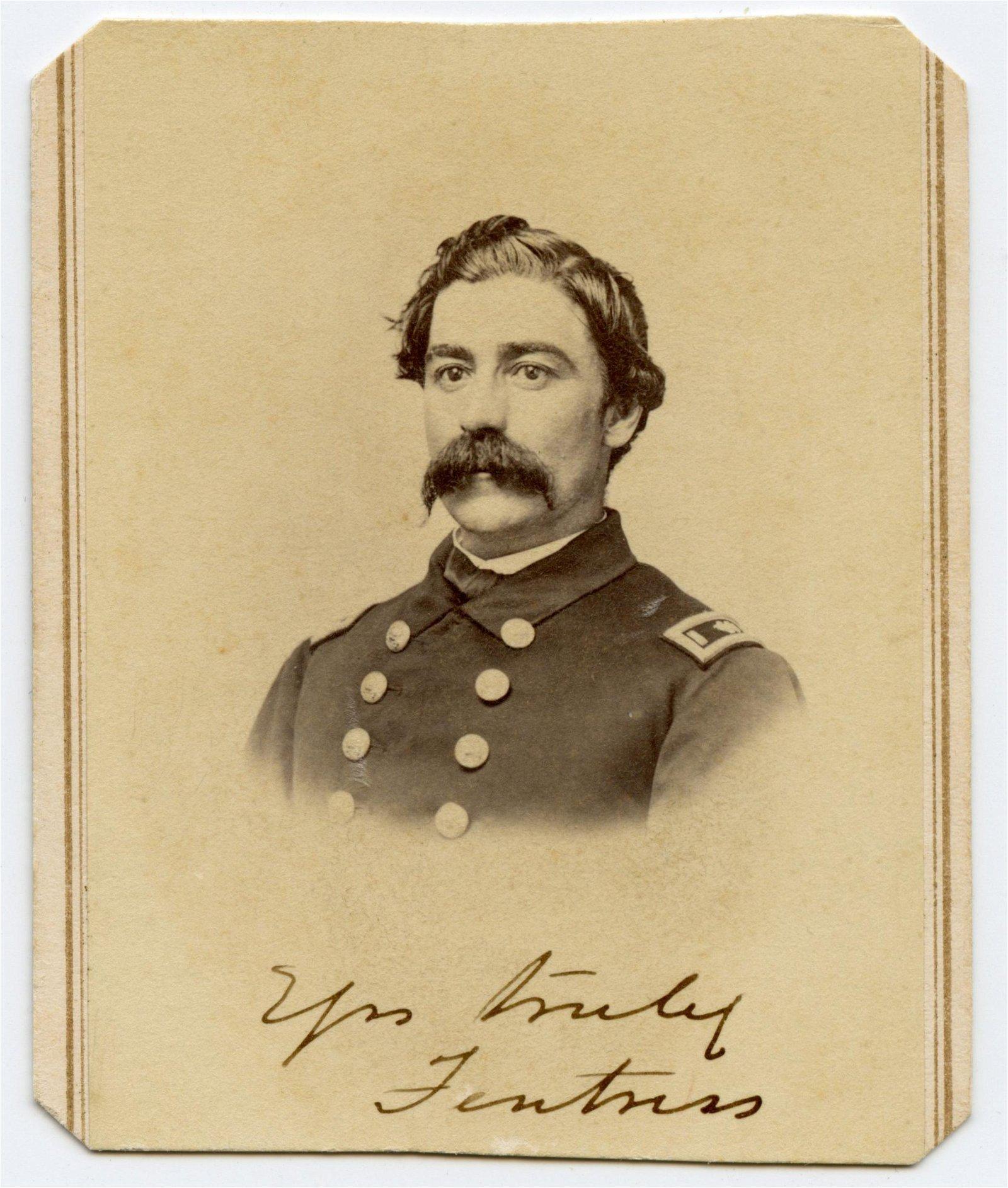 Civil War CDV Naval Officer- Prisoner of War