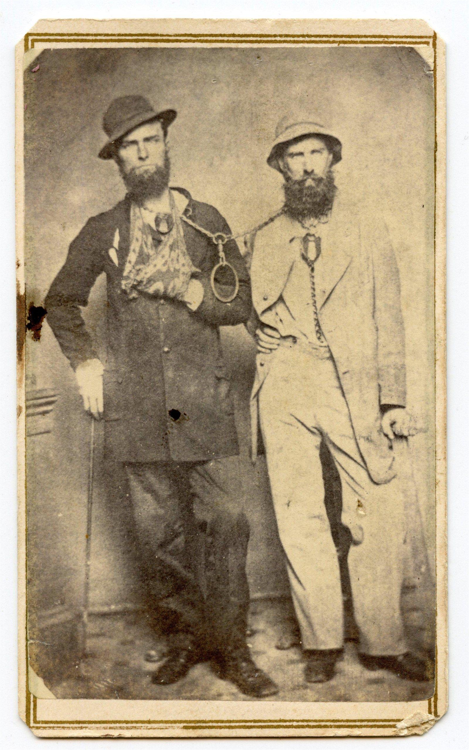 Civil War CDV Andersonville Prisoners