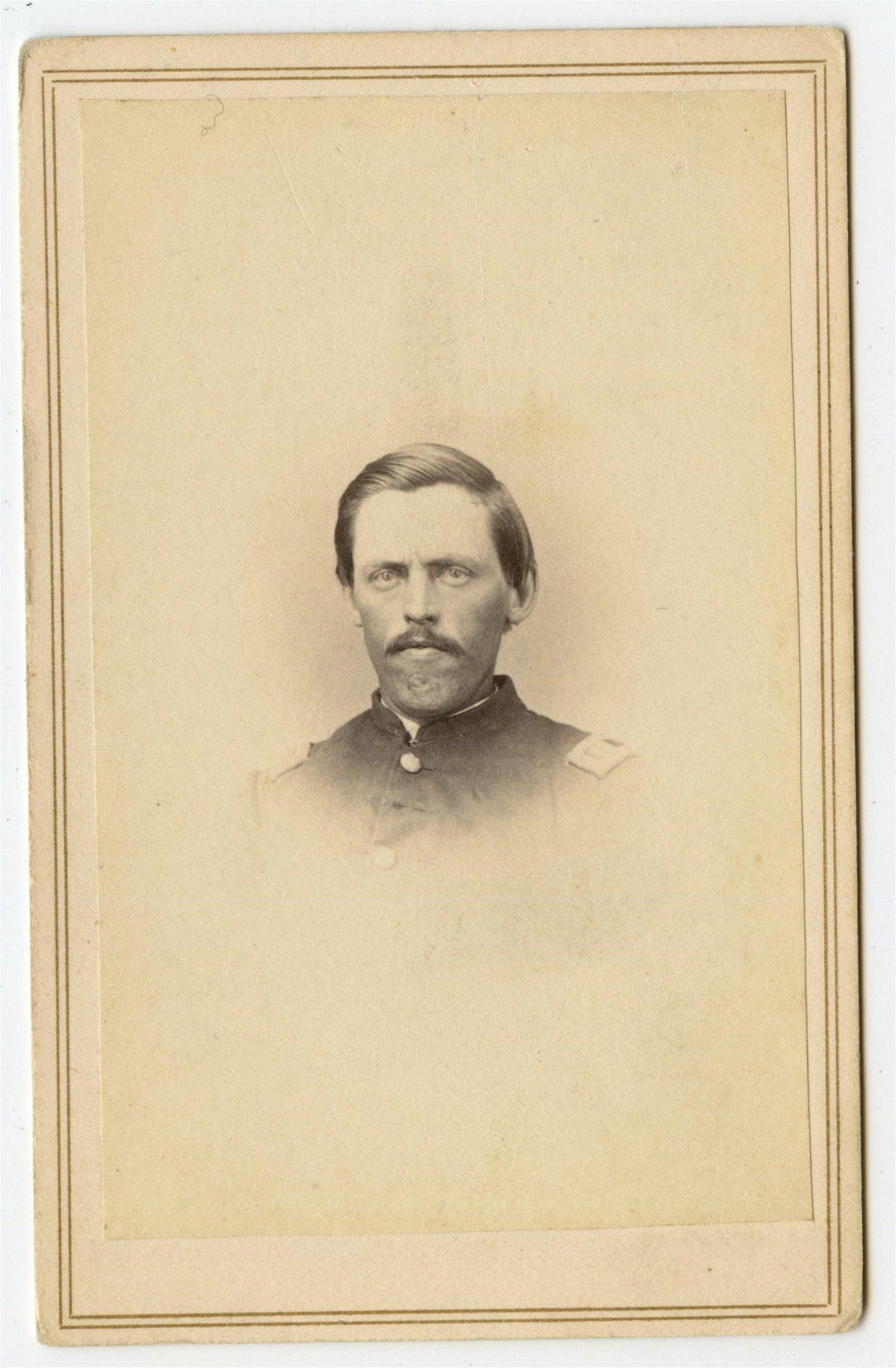 Civil War CDV 32nd NY- Famous Businessman