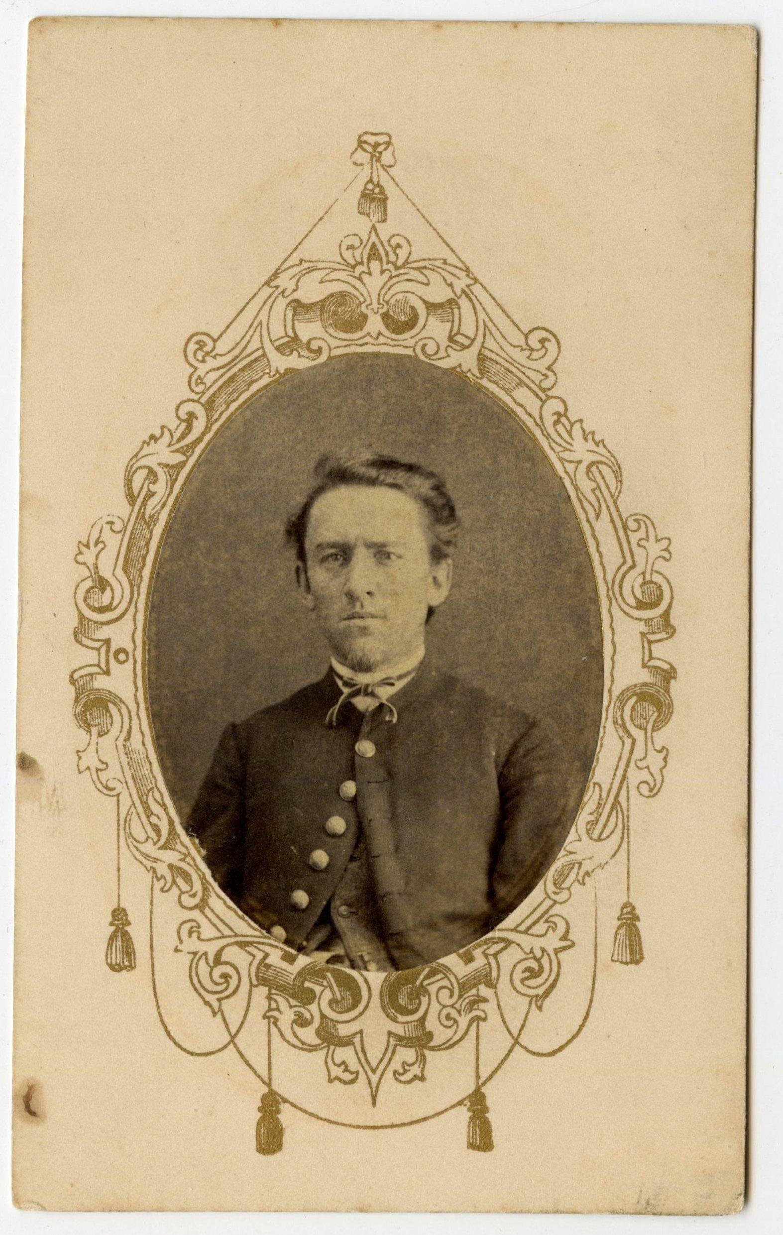 Civil War CDV 20th Connecticut- At Gettysburg