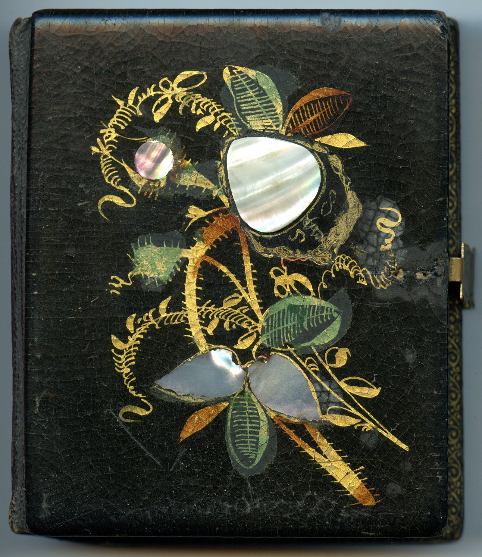 Sixth Plate Daguerreotype in Mother-of-Pearl Case