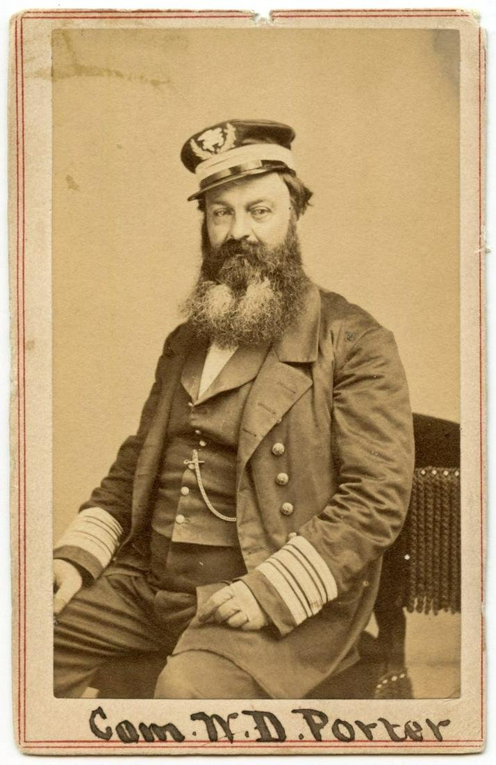 Civil War CDV of Commodore William D.
