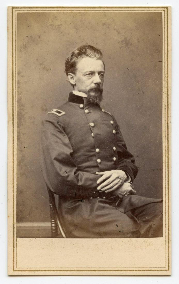 Civil War CDV General Slocum- Gettysburg Commander