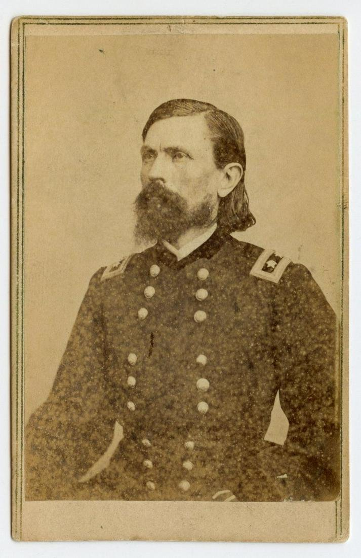 Civil War CDV of General Thomas Crittenden