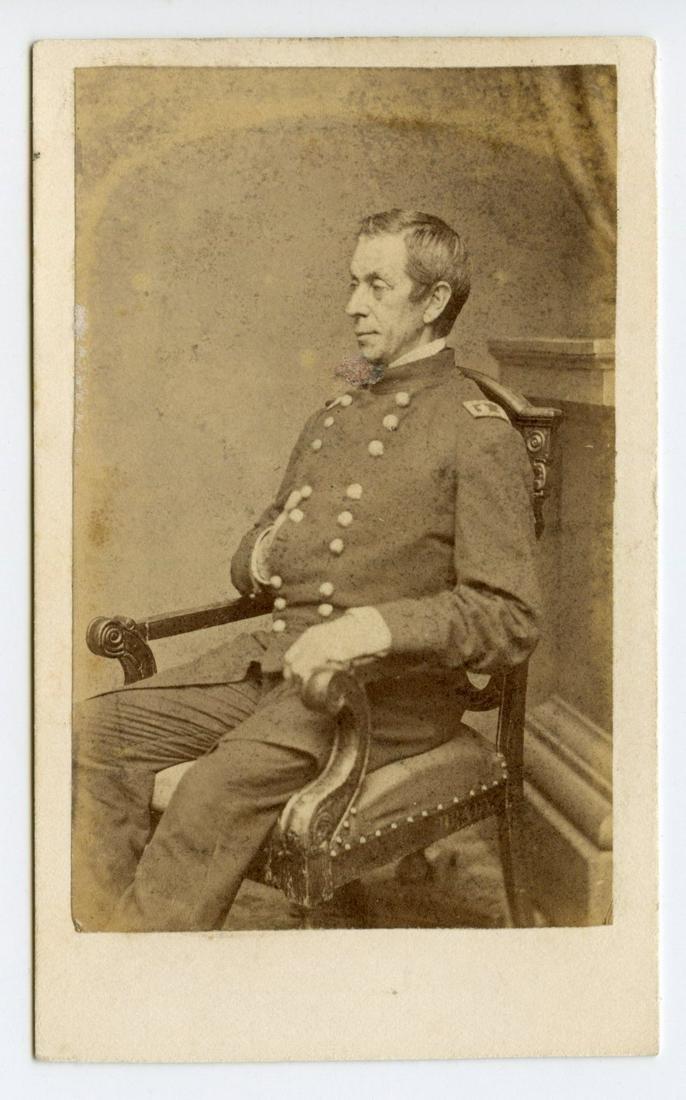 Civil War CDV of General George McCall