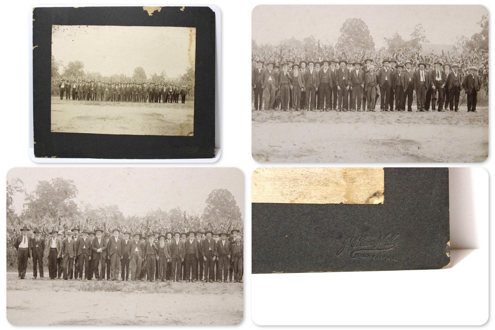 Civil War Confederate Orrs Rifle Reunion Photo
