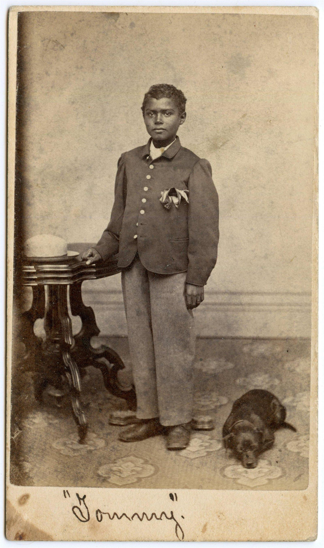 Civil War Identified Freed Slave CDV