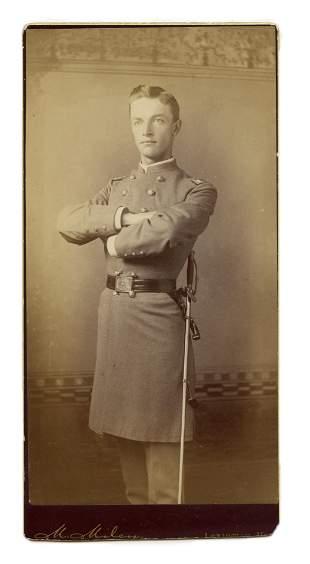 Rare Photo of Virginia Military Institute (VMI) Cadet