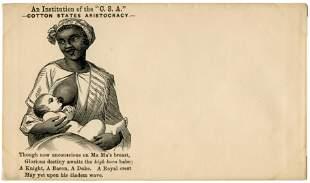 Rare Nursing African-American Civil War Cover