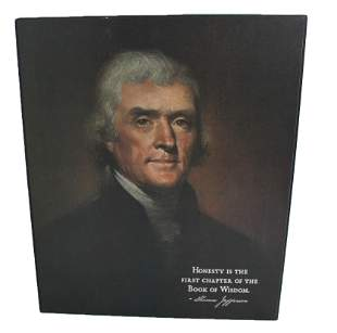 Jefferson Professional Canvass Print