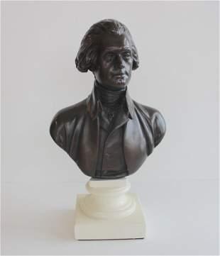 Jefferson Bronze Statue