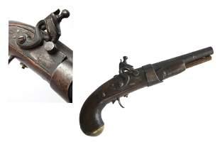 Antebellum American Flintlock Pistol