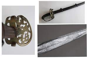 Civil War Non-Reg Staff & Field Sword