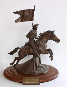 Exceptional Custer Statue