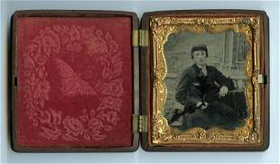 Young Soldier Portrait (Ambrotype)