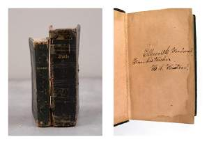 860s Bibles: ID'd Famous Southern Artist