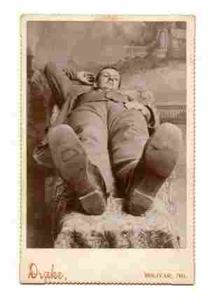 Unusual Cabinet Card- What a Perspective!