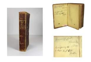 Inscribed Civil War Dictionary - 8th Mass.