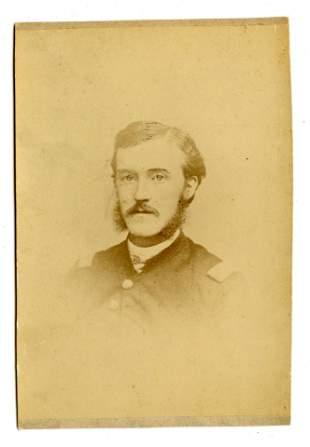 WIA at Gettysburg- Albumen Portrait