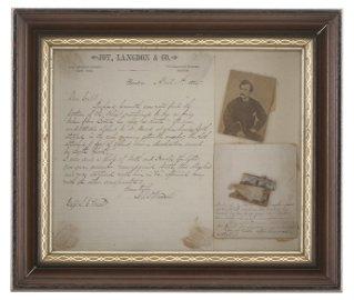 Historic Piece of John Wilkes Booth's Splint