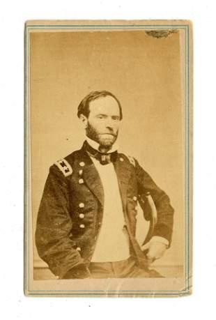 Civil War General CDV – William Tecumseh Sherman