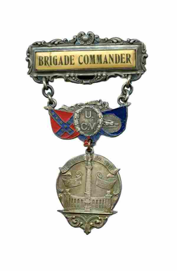 Confederate Veteran's Medal – Richmond, VA 1907