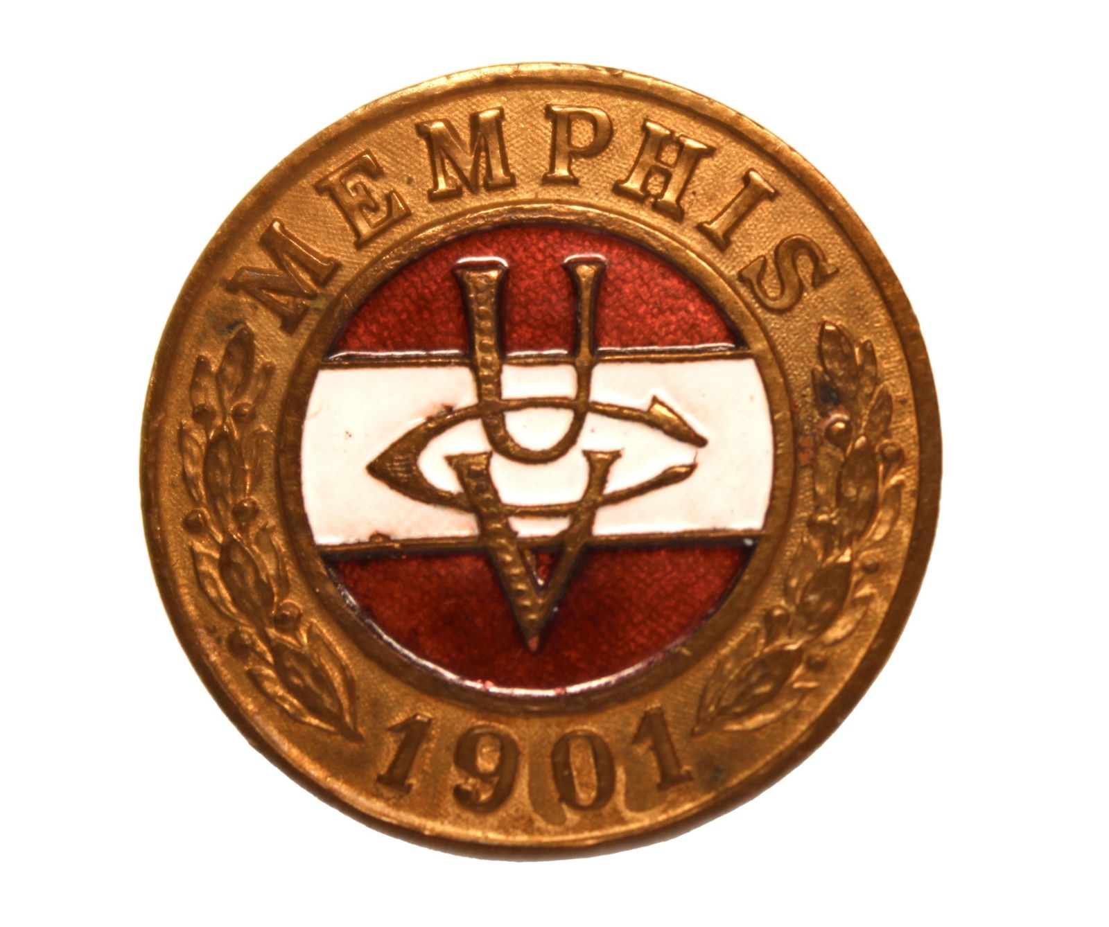 United Confederate Veterans Lapel Pin – Memphis,
