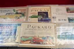 1930's - 1940's Packard Advertisements