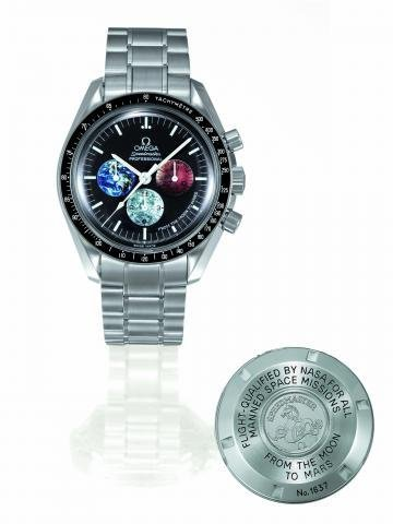 11: FROM THE MOON TO MARS Omega, Speedmaster