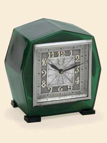"6: ""Art Deco Green Heptagon"" Léon Hatot, (ATO), No."