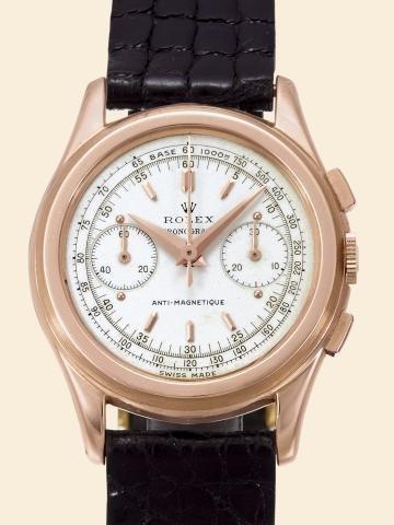 "168: Ref. 3055, Pink Gold, So-Called ""Piccolino"" Rolex"