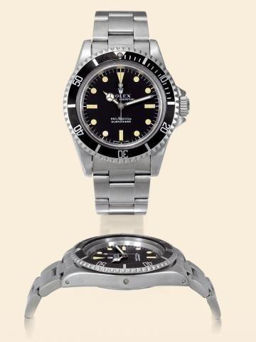 "169: Ref. 5513, ""Submariner 660 H.E.V."" Rolex, Oyster"