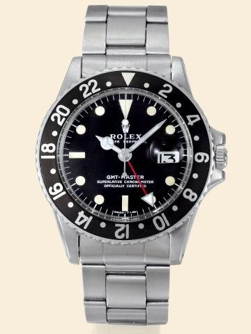 """171: Ref. 1675, Stainless Steel """"GMT-Master"""" Rolex, """"O"""